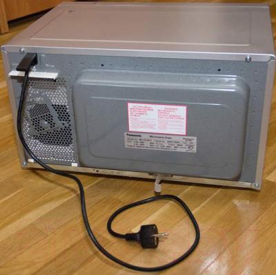 Микроволновая печь Panasonic NN-GD382SZPE - вид сзади 2