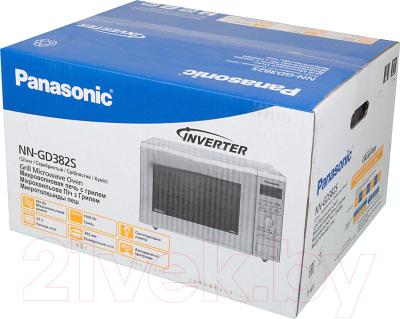 Микроволновая печь Panasonic NN-GD382SZPE - коробка