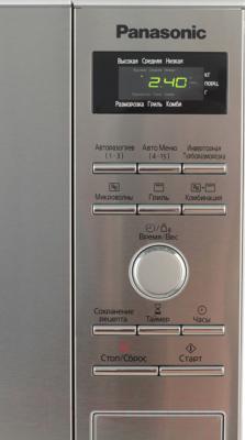 Микроволновая печь Panasonic NN-GD392SZPE - панель