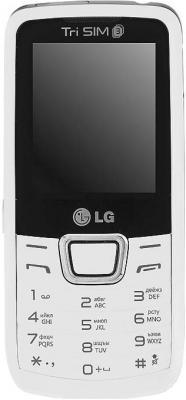 Мобильный телефон LG A290 White - общий вид