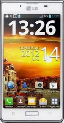Смартфон LG P705 Optimus L7 White - общий вид