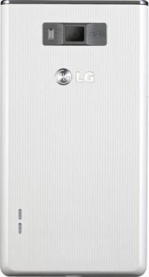 Смартфон LG P705 Optimus L7 White - задняя панель