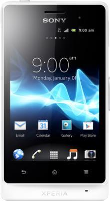 Смартфон Sony Xperia Go (ST27i) White - общий вид