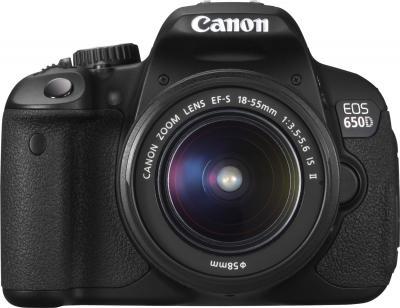 Зеркальный фотоаппарат Canon EOS 650D Kit 18-55mm IS II - общий вид