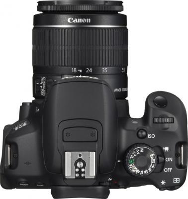 Зеркальный фотоаппарат Canon EOS 650D Kit 18-55mm IS II - вид сверху
