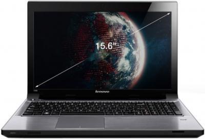 Ноутбук Lenovo IdeaPad V580A (59330079) - фронтальный вид