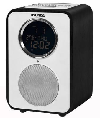 Радиоприемник Hyundai H-1624 Ebony - вид сбоку