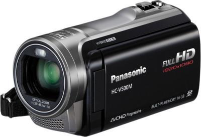 Видеокамера Panasonic HC-V500M (HC-V500MEE-K) - общий вид