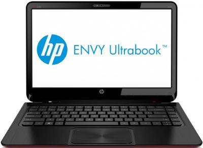 Ноутбук HP ENVY Sleekbook 6-1058er (B8F96EA) - фронтальный вид