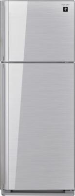 Холодильник с морозильником Sharp SJ-GC440VSL - общий вид