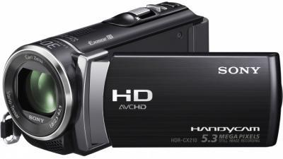 Видеокамера Sony HDR-CX210E Black - общий вид