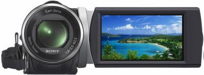 Видеокамера Sony HDR-CX210E Black - вид спереди