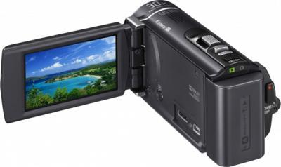 Видеокамера Sony HDR-CX210E Black - экран