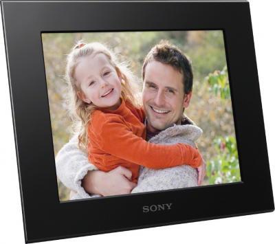 Цифровая фоторамка Sony DPF-C800 Black - общий вид