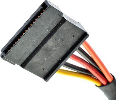Блок питания для компьютера FSP 350-60APN - разъемы (SATA)