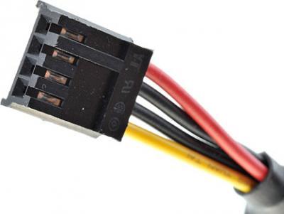 Блок питания для компьютера FSP 350-60APN - разъемы (Floppy)