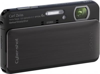 Компактный фотоаппарат Sony DSC-TX20 Black - общий вид