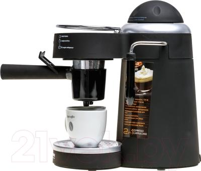 Кофеварка эспрессо Redmond RCM-1502 - чашки в комплект поставки не входят