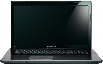 Ноутбук Lenovo IdeaPad G780 (59338245) - фронтальный вид