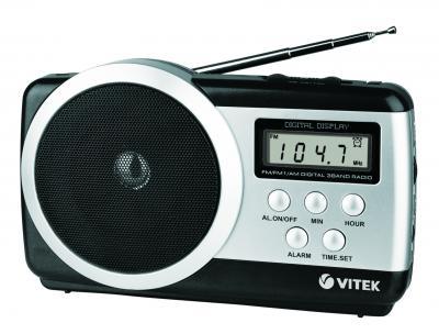 Радиоприемник Vitek VT-3581 Silver - общий вид