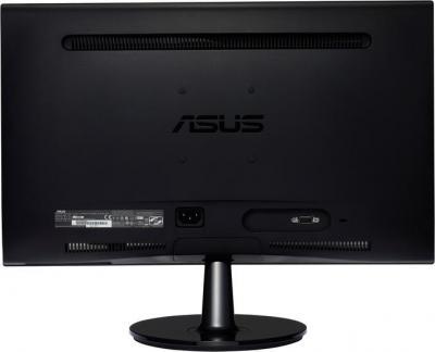 Монитор Asus VS208D - вид сзади