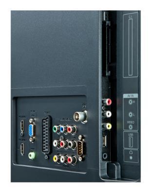 Телевизор Sharp LC-42LE40EV - входы/выходы