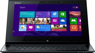 Ноутбук Sony VAIO SV-D1121Q2R/B - фронтальный вид