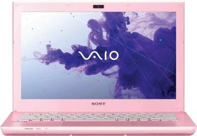 Ноутбук Sony VAIO SV-S1312E3R/P - фронтальный вид
