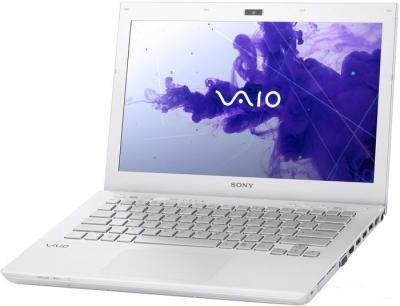 Ноутбук Sony VAIO SV-S1312E3R/W - общий вид