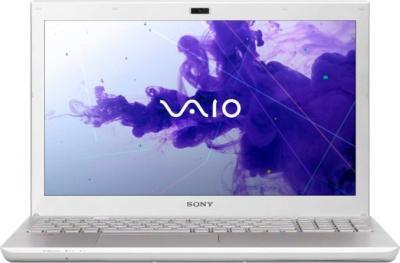 Ноутбук Sony VAIO SV-S1512U1R/W - фронтальный вид