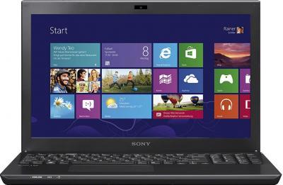 Ноутбук Sony VAIO SV-S1512X1R/B - фронтальный вид