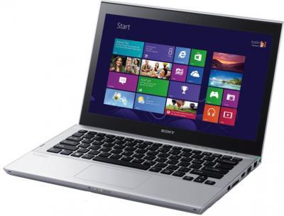 Ноутбук Sony VAIO SV-T1312M1R/S - общий вид