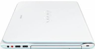 Ноутбук Sony VAIO SV-E14A2V1R/W - общий вид