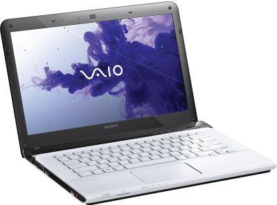 Ноутбук Sony VAIO SV-E1412E1R/W - общий вид