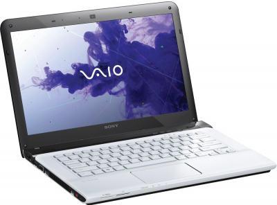 Ноутбук Sony VAIO SV-E1712E1R/W - общий вид