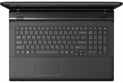 Ноутбук Sony VAIO SV-E1712T1R/B - вид сверху