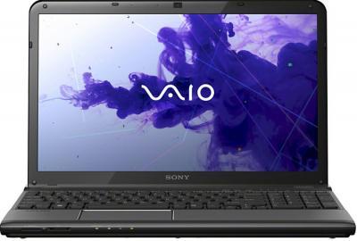 Ноутбук Sony VAIO SV-E1712Z1R/B - фронтальный вид