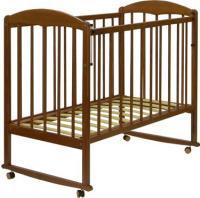 Детская кроватка СКВ 120117 (орех) -