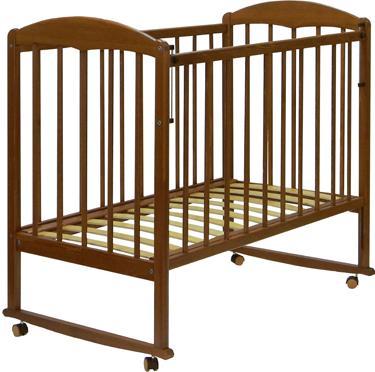 Детская кроватка СКВ 120117 (орех) - общий вид