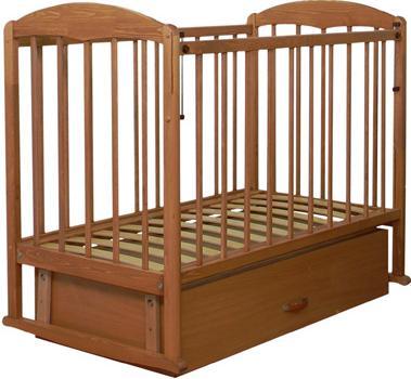 Детская кроватка СКВ 122006 (бук) - общий вид