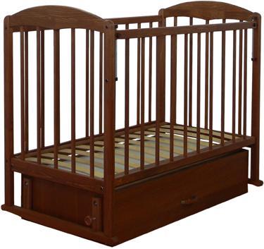 Детская кроватка СКВ 122007 (орех) - общий вид