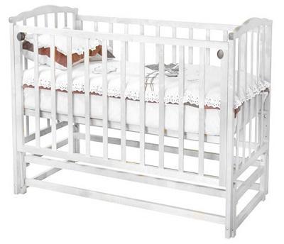 Детская кроватка Красная звезда Кристина С619 (Белая) - общий вид