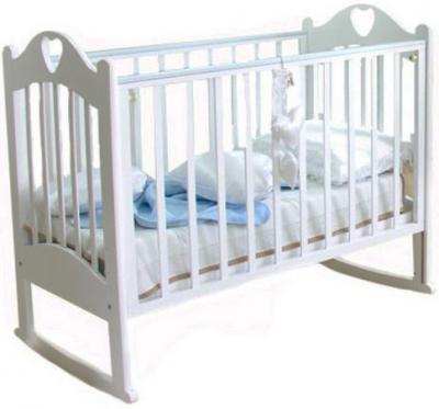 Детская кроватка Красная звезда Любаша С635 (Белая) - общий вид