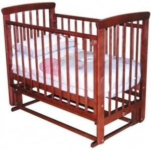 Детская кроватка Красная звезда Марина С700 (Орех) - общий вид