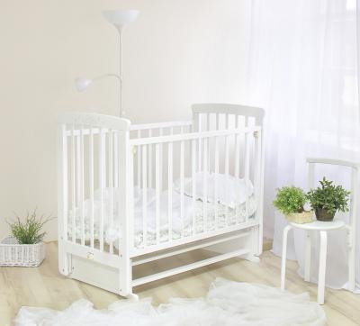 Детская кроватка Красная звезда Марина С700 (Белая) - в интерьере