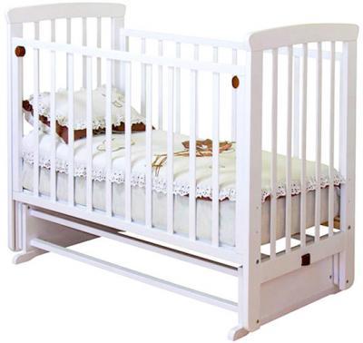 Детская кроватка Красная звезда Марина С700 (Слоновая кость) - общий вид