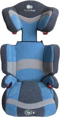 Автокресло KinderKraft Junior (Blue) - вид спереди