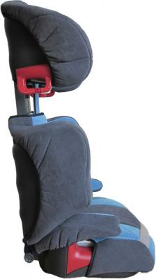 Автокресло KinderKraft Junior (Blue) - вид сбоку
