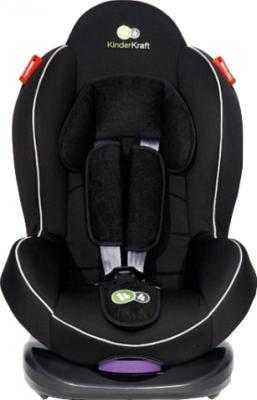 Автокресло KinderKraft Shell Plus Black - вид спереди