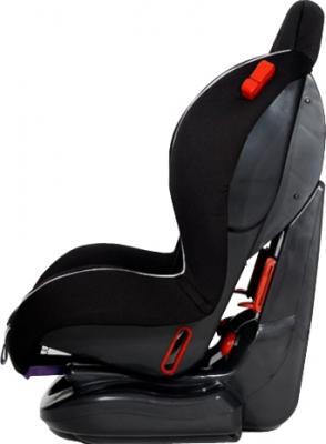 Автокресло KinderKraft Shell Plus Black - вид сбоку